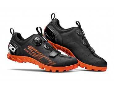 SIDI SD15 MTB/trekking shoes black/orange