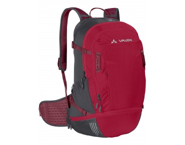 VAUDE BIKE ALPIN 25 + 5 backpack indian red/salsa