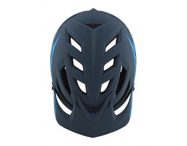 Troy Lee Designs A1 MTB helmet DRONE gray/ocean