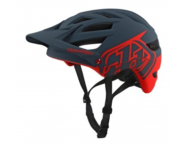 Troy Lee Designs A1 MTB helmet DRONE gray/red