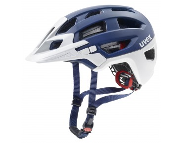 uvex finale Helm blue/white mat