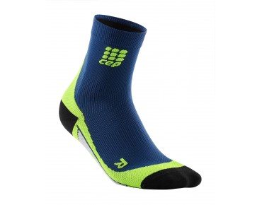 cep SHORT Socken deep ocean/green