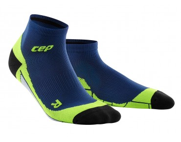 cep LOW CUT socks deep ocean/green