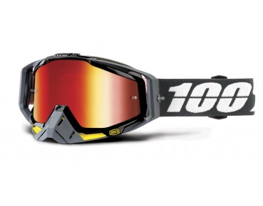 100% RACECRAFT goggles FORTIS/mirror red
