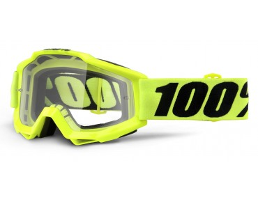 100% ACCURI OTG Goggle fluo yellow