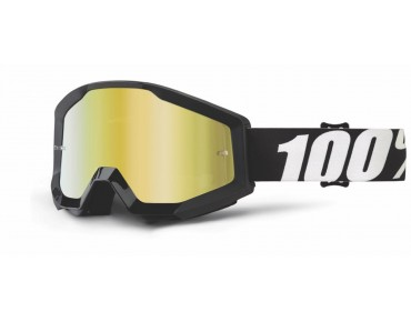 100% STRATA MIRROR Goggle OUTLAW/mirror gold