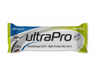 ultraSPORTS ultraPro Bar 50 % eiwitreep, lemon-cocos