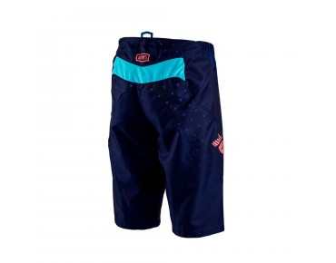 100% R-CORE SUPRA DH cycling shorts navy
