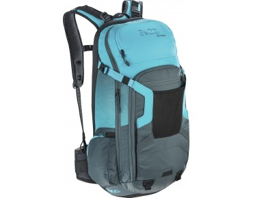 evoc FREERIDE TRAIL 20L backpack slate-neon blue
