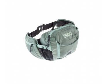 evoc HIP PACK 3L - marsupio incl.  sacca idrica 1,5 l olive/light teal
