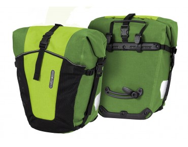 ORTLIEB Back Roller Pro Plus set of two pannier bags lime-moss green