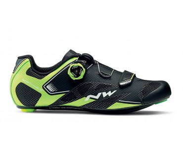 NORTHWAVE SONIC 2 PLUS road shoes black/yellow fluo/white