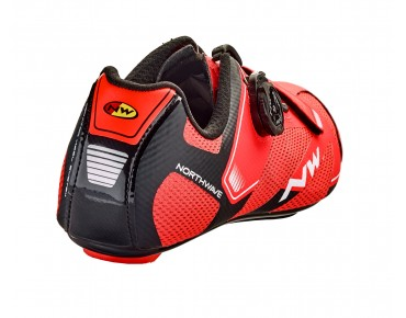 NORTHWAVE SONIC 2 PLUS - scarpe bici da strada lobster orange/black