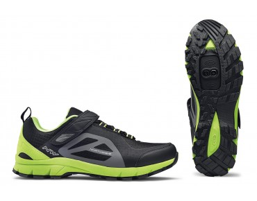 NORTHWAVE ESCAPE EVO trekking shoes black/green