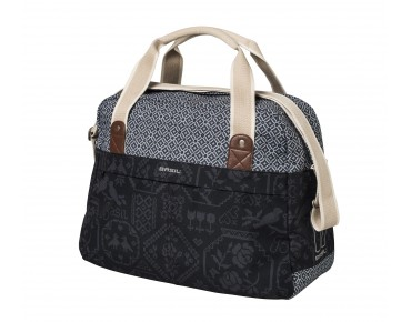 BASIL BOHEME CARRY ALL BAG - borsa bici per donna charcoal