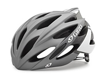 GIRO SAVANT road helmet with MIPS matte titanium/white