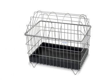 Zinsmayer dog basket titanium