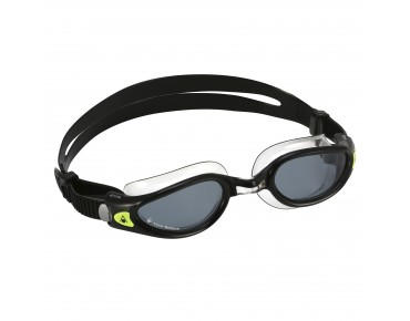 Aqua Sphere Kaiman Exo swimming goggles black-transparent/smoke lens