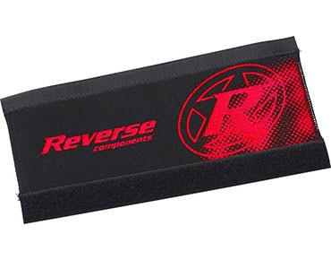 Reverse Neopren chainstay protector black/red