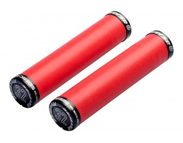 Reverse Seismic Ergo grips red/black
