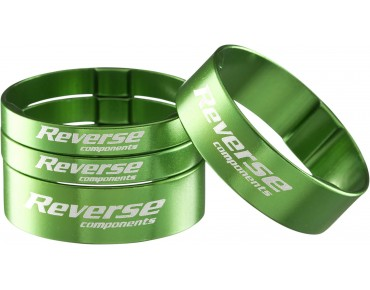 Reverse Alloy ultra-light spacer set green