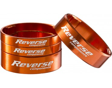 Reverse Alloy ultra-light spacer set orange