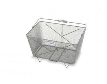 Zinsmayer front/rear bicycle basket titanium