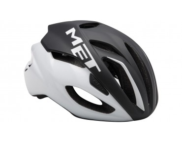 MET RIVALE HES road helmet black/white