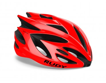 RUDY PROJECT RUSH helmet fire red shiny