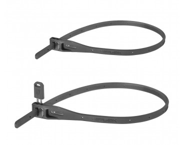 Hiplok Z-Lok steel core cable tie lock 2-pack grey