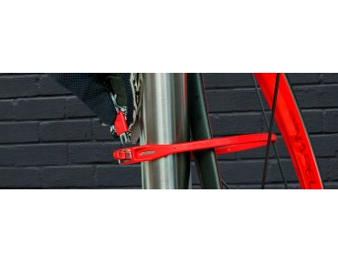 Hiplok Z-Lok steel core cable tie lock 2-pack red