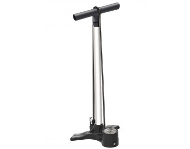 Lezyne Macro Floor Drive DV bicycle floor pump 15 bars white