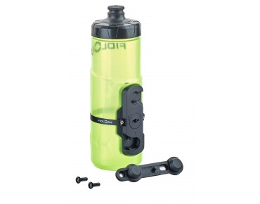 Fidlock TWIST bottle incl. magnetic mount yellow/transp.