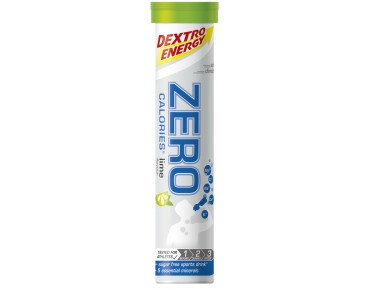Dextro Energy Zero Calories effervescent tablets lime