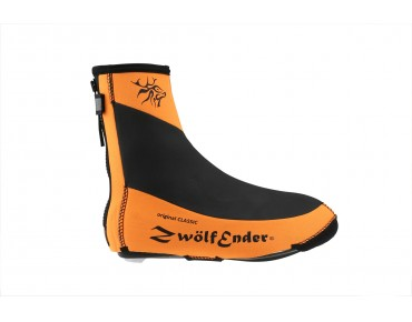 ZwölfEnder CLASSIC MTB/road bike overshoes orange/black