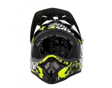O´NEAL BACKFLIP KIDS - casco integrale bambino ATTACK black/hi-viz