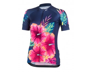 ROSE TROPICAL women's jersey tropical flower