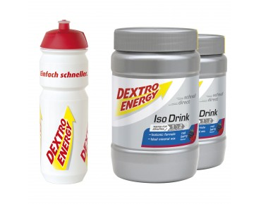 Dextro Energy Iso Drink stock set red-berry