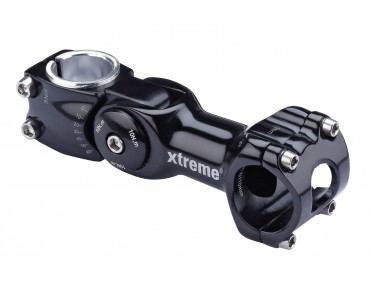 Xtreme Pro Adjustable stem for Ø31,8mm black