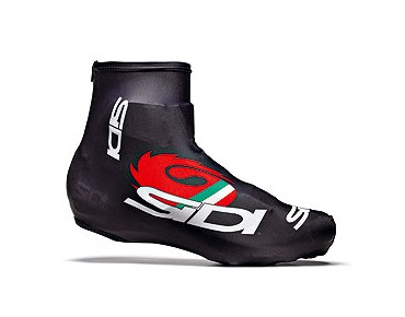 CHRONO overshoes black/red