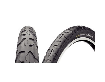 Continental Town & Country MTB tyre black/black