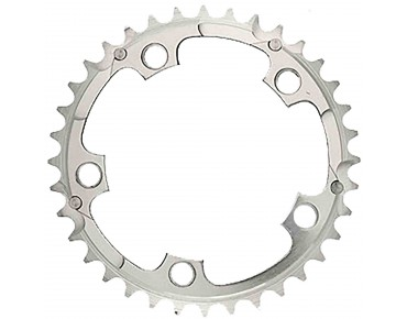TA Zephyr 8-/9-/10-speed 36-tooth chainring silver
