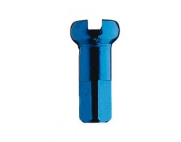 DT Swiss aluminium spoke nipples blue