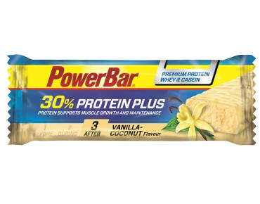 PowerBar Protein Plus 30% bar – RICH IN HIGH-QUALITY PROTEIN Vanilla-Coconut