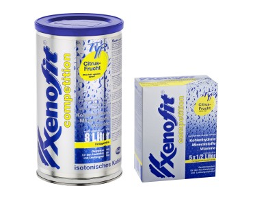 Xenofit competition drink powder citrus fruit
