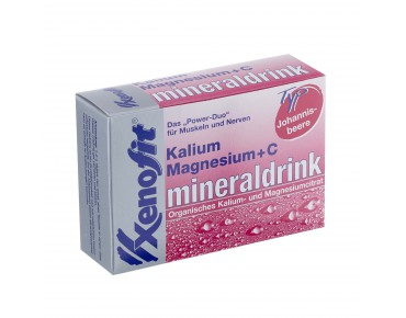 Xenofit® Potassium, Magnesium + Vitamin C drink powder