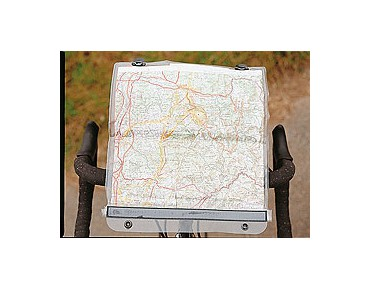 ORTLIEB map case for ULTIMATE2 - 5 transparent