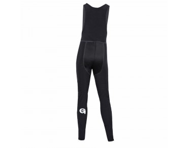GONSO TOM kids' soft shell thermal bib tights without seat pad black