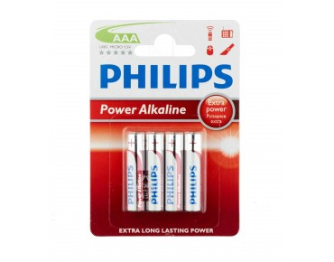 Philips Micro Alkaline / AAA / LR03 batteries