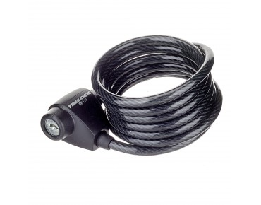 Trelock SK 110 coil cable lock black